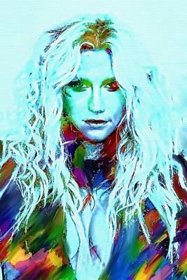 Kesha Poster by Bogdan Floridana Oana