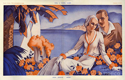 La Vie Parisienne  1931 1930s France Cc Poster by The Advertising Archives