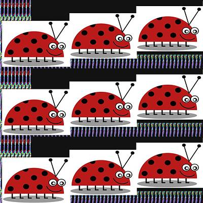 Lady Bug Competition Sport Stadium In Amazon Hills Poster
