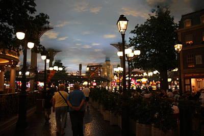 Las Vegas - Paris Casino - 12124 Poster by DC Photographer