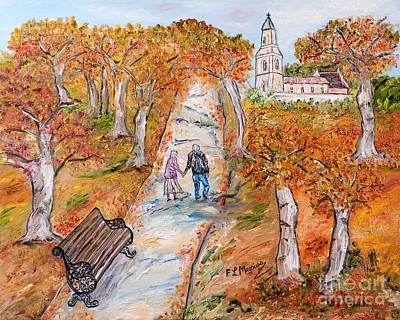 L'autunno Della Vita Poster