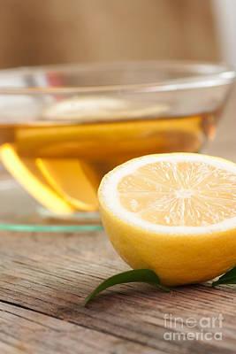 Lemon Fruit Tea Poster