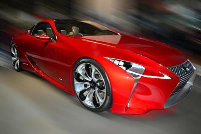 Lexus L F - L C Hybrid  2013 Poster