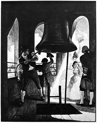 Liberty Bell, 1776 Poster by Granger