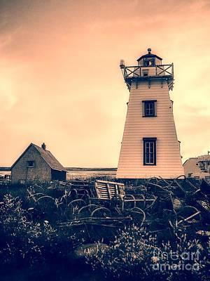 Lighthouse Prince Edward Island Poster