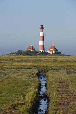 Lighthouse Westerhever Poster