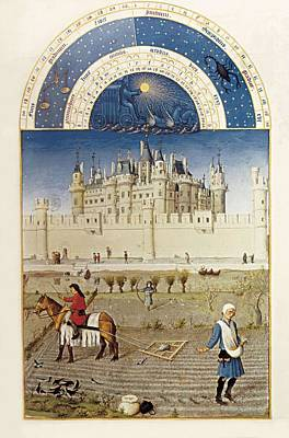Limbourg, Jean Ca. 1370-1416 Limbourg Poster