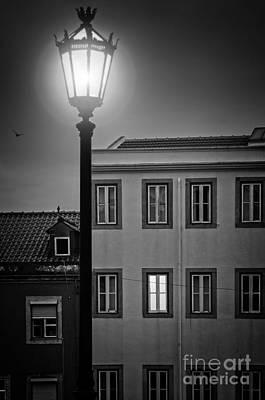 Lisbon Houses Poster