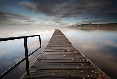 Loch Lomond Jetty Poster by Grant Glendinning