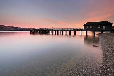 Loch Lomond Sunset Poster by Grant Glendinning