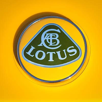 Lotus Emblem Poster