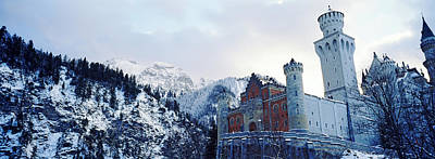 Low Angle View Of The Neuschwanstein Poster by Panoramic Images
