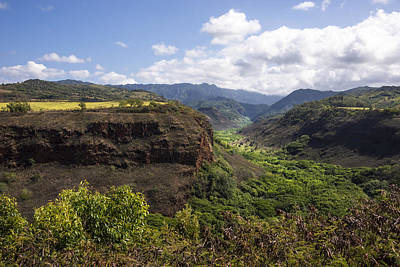 Lower Waimea Canyon Poster