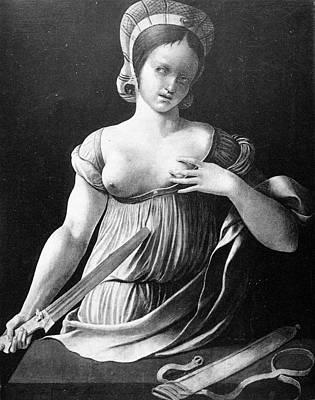 Lucretia (d Poster