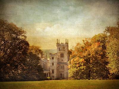 Lyndhurst Castle Poster by Jessica Jenney