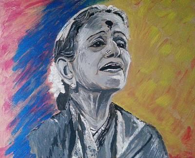 M S Subbulakshmi Poster by Vidya Vivek