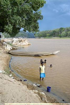 Madagascan River Scene Poster by Science Photo Library