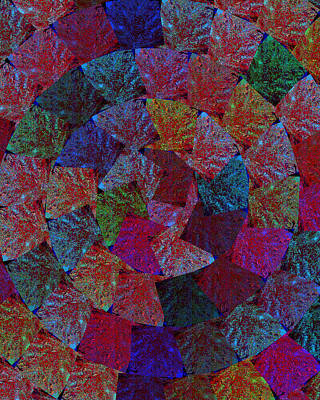 Magic Marbles Marvellous Colorful Pattern Spiral Sparkle Wonderland Kidsroom School Nursary Daycare  Poster