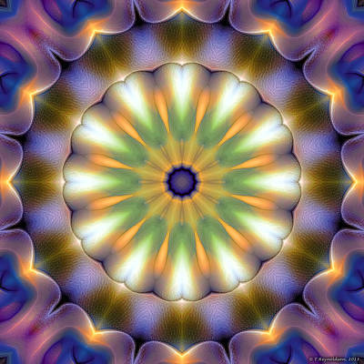 Mandala 105 Poster by Terry Reynoldson