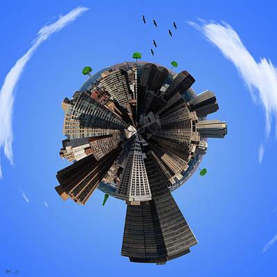 Manhattan Poster by Mark Ashkenazi