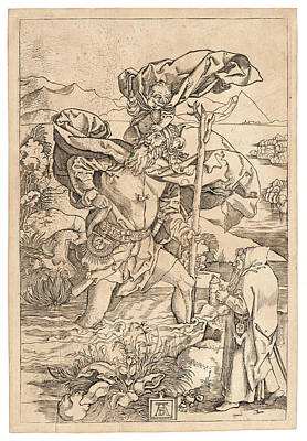 Marcantonio Raimondi Italian, Ca. 14701482 - 15271534 Poster by Litz Collection