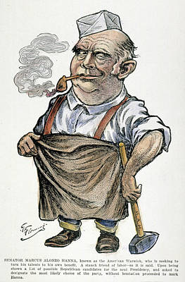 Marcus Alonzo Hanna (1837-1904) Poster