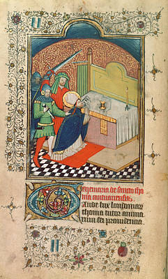 Martyrdom Of Thomas Becket Poster