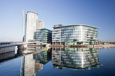 Media City Poster by Ashley Cooper