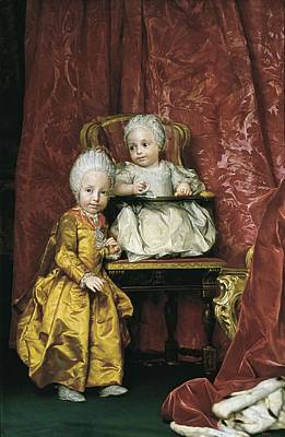 Mengs, Anton Raphael 1728-1779 Poster