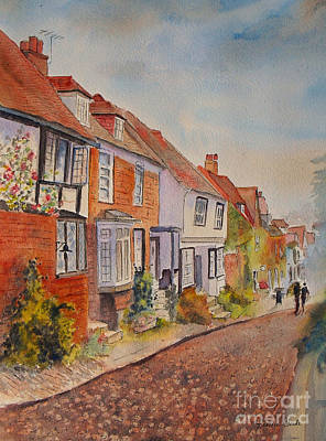 Poster featuring the painting Mermaid Street Rye by Beatrice Cloake