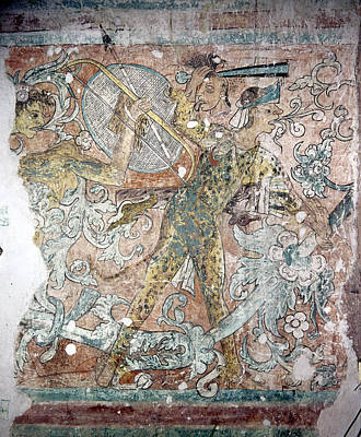 Mexico Ixmiquilpan Fresco Poster by Granger