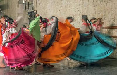 Mexico, Oaxaca, Mexican Folk Dance Poster