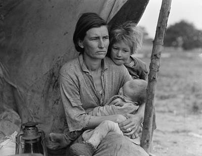Migrant Mother Poster by Historic Photos