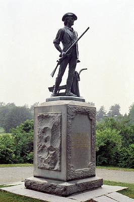 Minutemen Soldier Poster