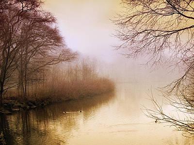 Misty Morn Poster by Jessica Jenney