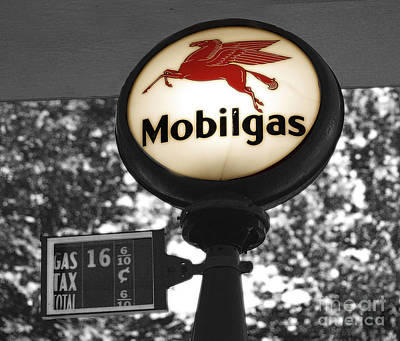 Mobil Gas Poster