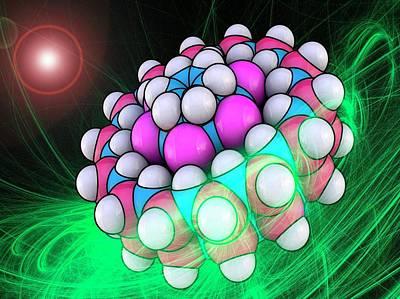 Molecular Bearing Model Poster by Laguna Design