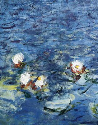 Monet, Claude 1840-1926. Waterlilies Poster