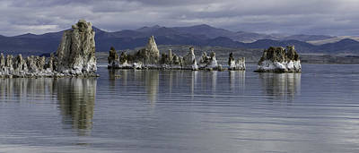 Poster featuring the photograph Mono Lake by Betty Depee