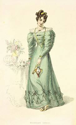 Morning Dress, Fashion Plate Poster