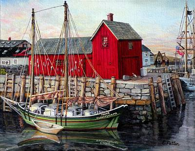 Motif  Number One Poster by Eileen Patten Oliver