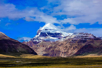 Mt Kailash. Poster by Kirill Kamionsky