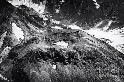 Poster featuring the photograph Mt St. Helen's Crater by David Millenheft