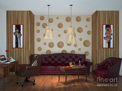 My Art In The Interior Decoration - Elena Yakubovich Poster by Elena Yakubovich