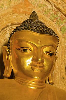 Myanmar Bagan Htilominlo Temple Golden Poster