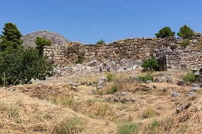 Mycenae, Greece Poster by Ken Welsh
