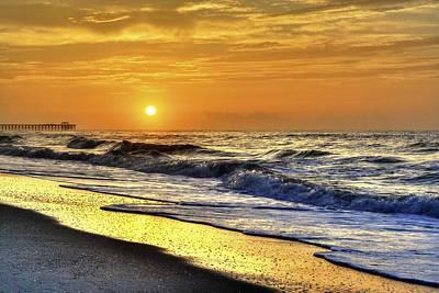 Myrtle Beach South Carolina Sunrise Poster