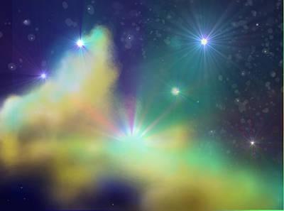 Nebula Poster by Ricky Haug