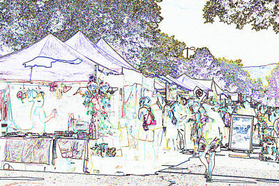 New West Fest Street Fair Poster by Annie Johnson