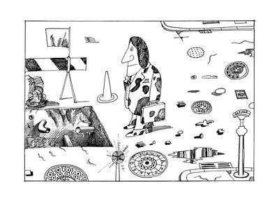 New Yorker September 19th, 1977 Poster